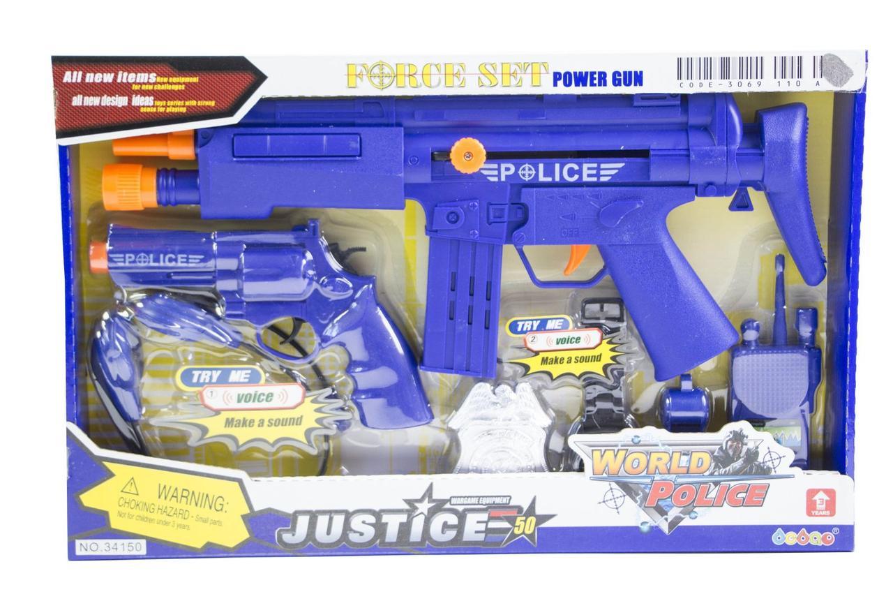 Игровой набор - Полицейский спецназ 34150