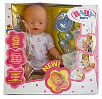 Кукла Baby Born (Бейби Борн) с аксессуарами (К175), фото 1