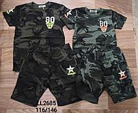 Комплекты  летние для мальчиков оптом, Sincere, размеры 116-146, арт. LL-2685