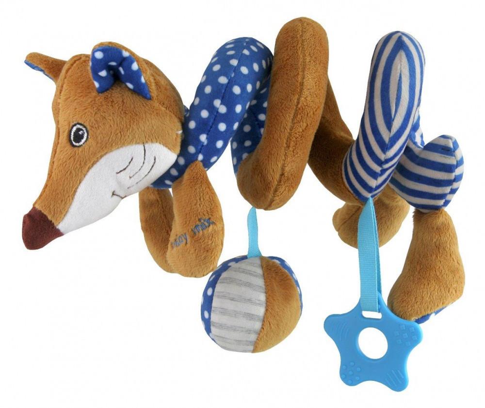 Плюшевая игрушка спираль Baby Mix STK-17511B  Лисичка