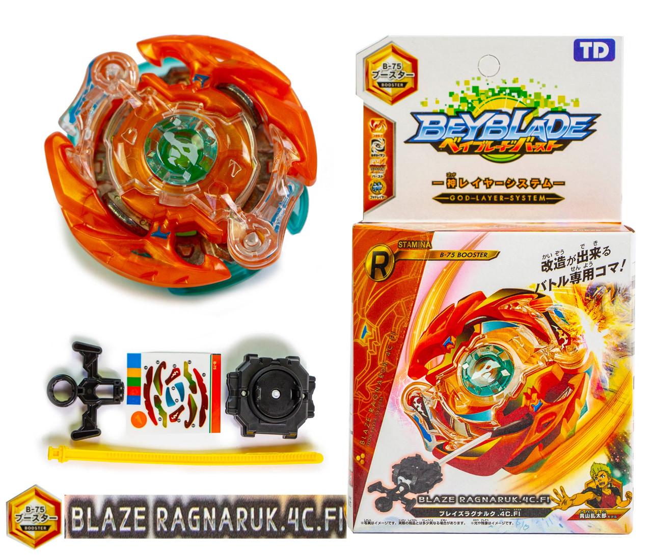 Волчок Ракнарук BeyBlade Blaze Ragnaruk B-75