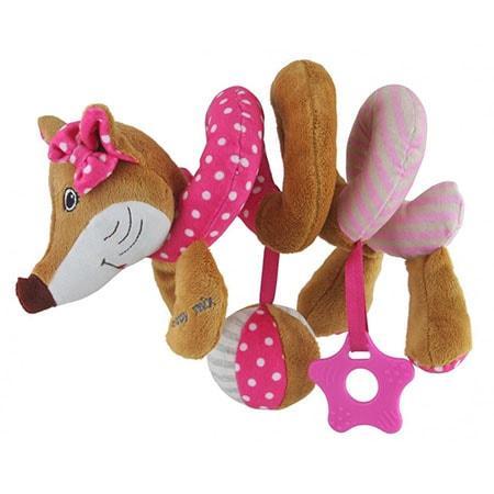 Плюшева іграшка спіраль Baby Mix STK-17511P Лисичка