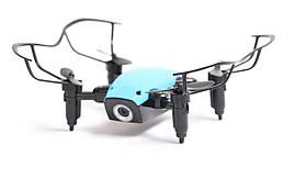 Квадрокоптер Aircraft  S9hw Drone mini с камерой и wi-fi Синий