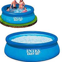 Надувной бассейн, бассейн большой надувной Intex 28120 Easy Set Pool, 305 х 76 см, 3853 л.