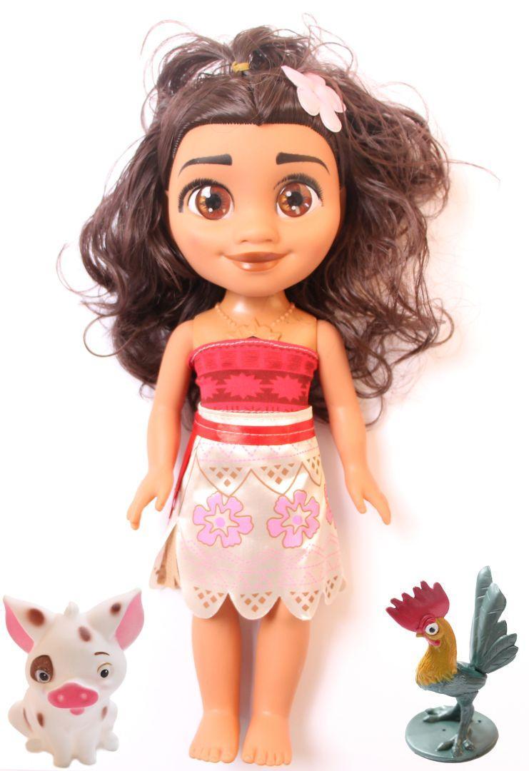 Кукла MOANA Ваяна с свинкой и петушком