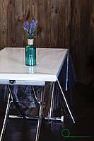 Прозрачная скатерть для защиты стола, прозора клейонка для захисту стола