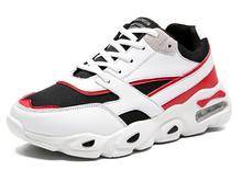 Кроссовки Fashion бело-красные