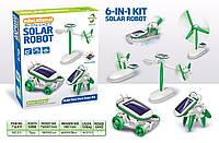 Конструктор на солнечных  Батареях  Робот 6 В 1, фото 1