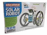 """Конструктор на солнечных батареях """"Робот"""" 14 в 1, фото 1"""