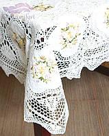 Скатерть Ажурная вязка на кухонный стол, фото 1