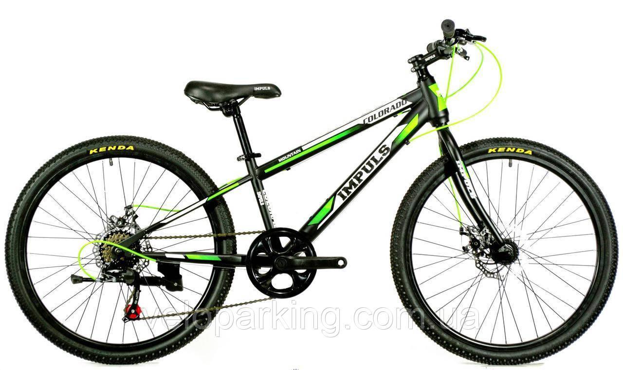 Горный подростковый велосипед для 24 Crossover Corado (2019) new
