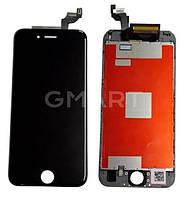 Дисплей APPLE IPHONE 6S + Сенсор (тачскрин) / Экран на Айфон 6S черный (LCD High Copy), Дисплей iPhone 6S чорний (LCD екран, тачскрін, скло в зборі)