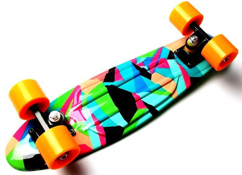 """Penny Board """"Marco's"""" Green 2in1"""