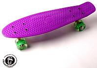 Скейтборд penny board FISH фиолетовый, фото 1