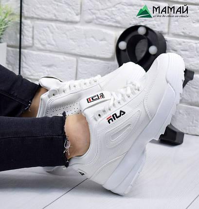 Кросівки жіночі Fila - Тренд 2019! репліка 36-41р, фото 2