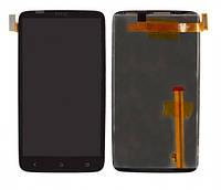Дисплей HTC One X S720e черный (LCD экран, тачскрин, стекло в сборе), Дисплей HTC One X S720e чорний (LCD екран, тачскрін, скло в зборі)