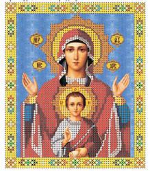 """Ікона Преподобної богородиці """"Знамення"""""""