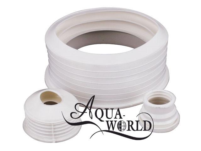 Редукция резиновая белая Aqua-World