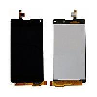 Дисплей ZTE Nubia Z5S mini NX403A черный (LCD экран, тачскрин, стекло в сборе), Дисплей ZTE Nubia Z5S mini NX403A чорний (LCD екран, тачскрін, скло в