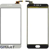Сенсорный экран Meizu M3 Note (L681H) белый (тачскрин, стекло в сборе), Сенсорний екран Meizu M3 Note (L681H) білий (тачскрін, скло в зборі)