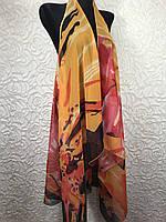 Стильная пляжная накидка с абстрактным принтом (цв.8)