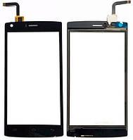 Сенсорный экран Doogee X5 Max черный (тачскрин, стекло в сборе), Сенсорний екран Doogee X5 Max чорний (тачскрін, скло в зборі)