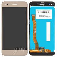 Дисплей для Huawei Nova Lite 2017 золотистый (LCD экран, тачскрин, стекло в сборе), Дисплей Huawei Nova Lite 2017 золотистий (LCD екран, тачскрін,