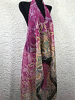 Женская розовая пляжная туника на купальник (цв.10)