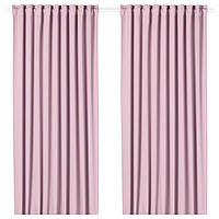 IKEA MAJGULL Гардины, пара, светло-розовый  (504.177.94)