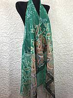 Женская зеленая туника для пляжа (цв.12)