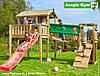 Детская площадка Джангл Джим Playhouse XL Bridge Module