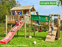 Детская площадка Джангл Джим Playhouse XL Bridge Module, фото 1