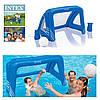 Ворота для футбола и водного поло с надувным мячом Intex 58507 - Фото