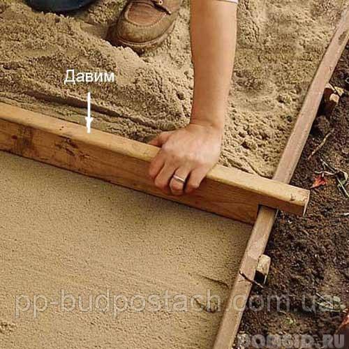 Бетонні доріжки на присадибній ділянці своїми руками