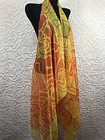 Женская накидка для пляжа шифоновая (цв.22)