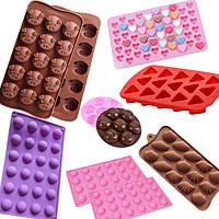 Силиконовые формы для конфет и льда
