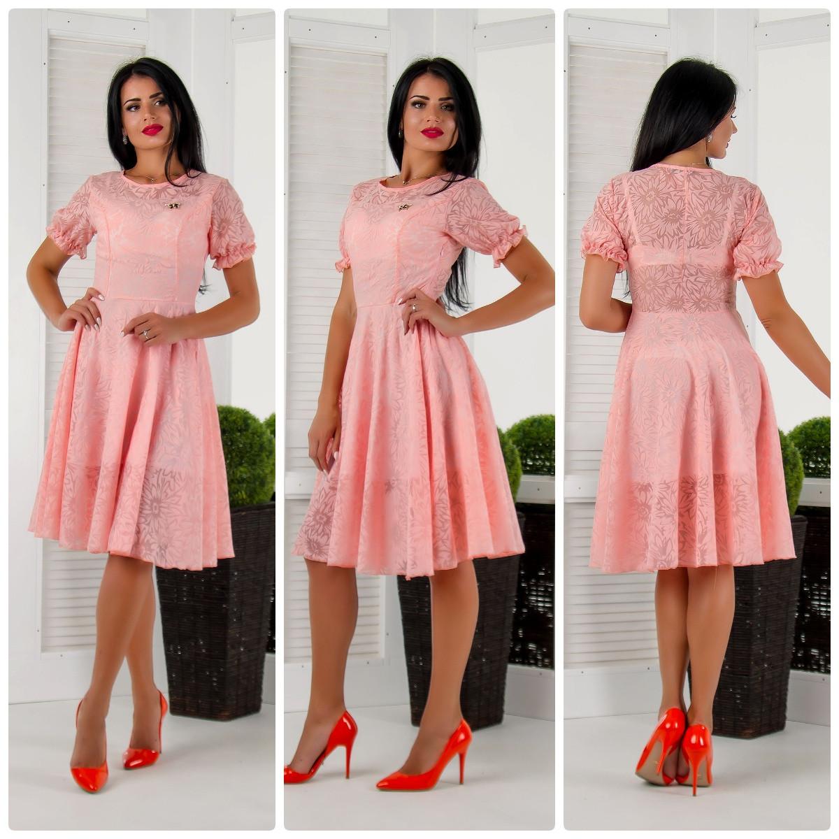 b16483fcab1 Красивое летние платье органза бб765 (42-58)  продажа