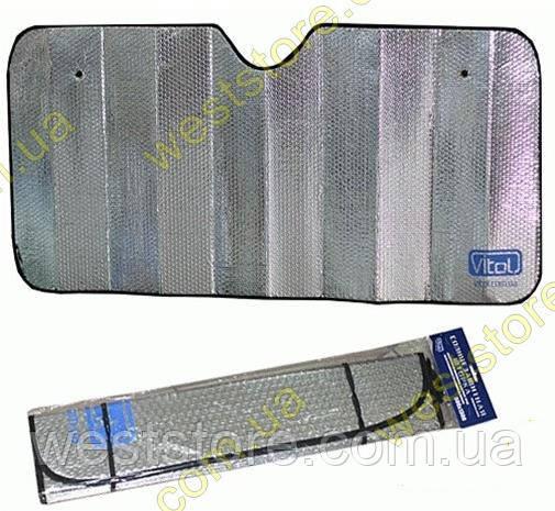 """Фольга на лобовое стекло белая (1300х600) """"VITOL"""""""