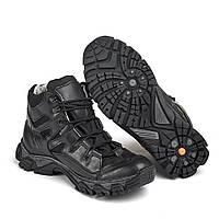 """Ботинки  """"УКР-ТЕК"""" чёрные тактические демисезонные размеры 36-46"""