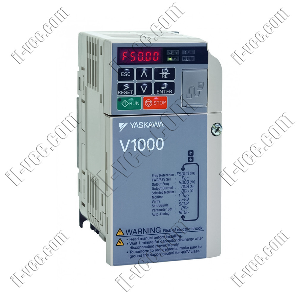Преобразователь частоты Yaskawa V1000 1.1kW/1.1kW 230V 1ph to 1ph AC
