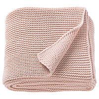 IKEA INGABRITTA Плед, рожевий (703.740.67)