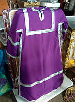 Стихарь пурпурного цвета на заказ