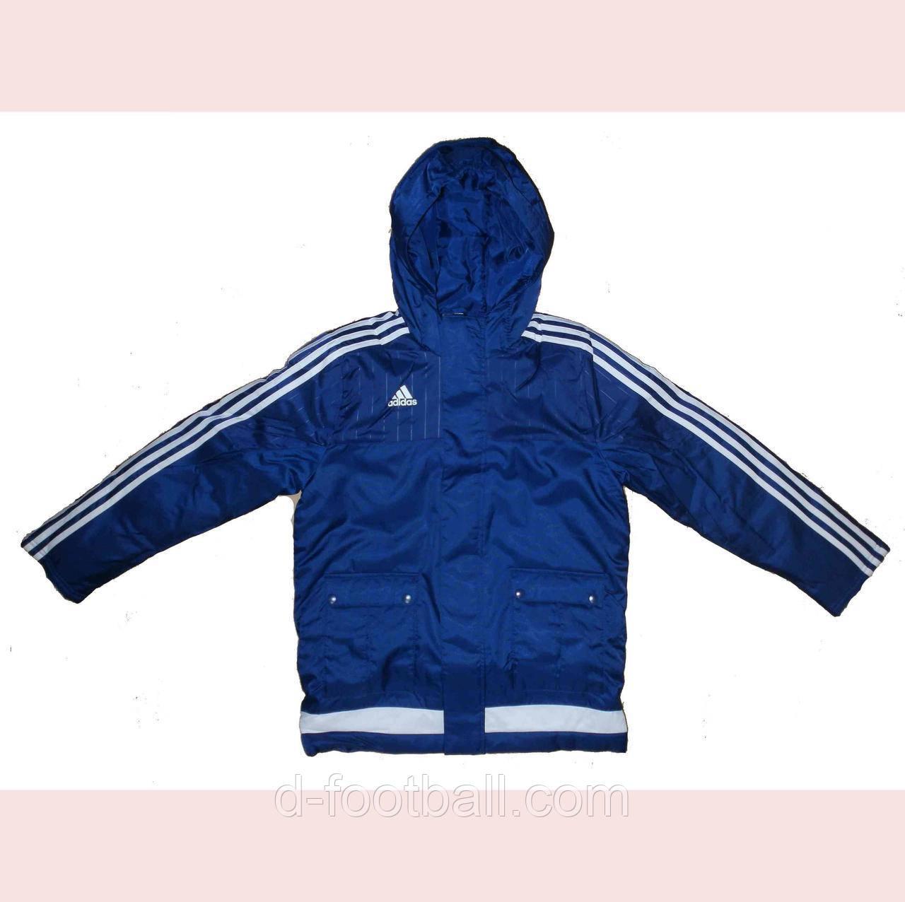 bcec95b9 Спортивная детская зимняя куртка Adidas Tiro 15 Stadium Jacket