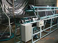 Станок-автомат для изготовления сетки рабицы, односпиральный