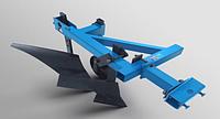 Плуг с предплужником и опорным колесом ТМ АРА для тяжелых мотоблоков