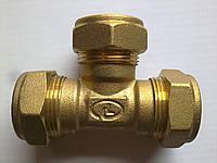 "Тройник Gofraflex BT25 ""труба-труба-труба"""