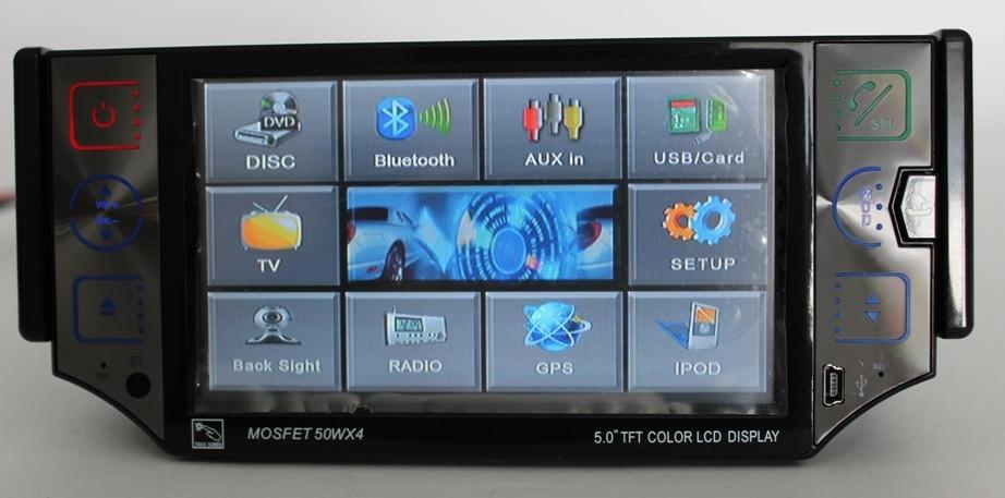 Автомагнитола с 5 TFT LCD экраном