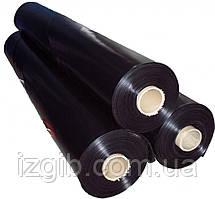 Пленка полиэтиленовая черная, 1,5м*80мк*100м
