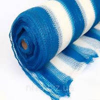 Сетка затеняющая 70% затенения бело-голубая 4м х 50м