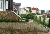 Покрытия каменных поверхностей лаком (краской), фасадные работы